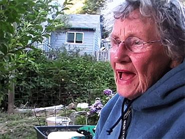 Grandma telling a story
