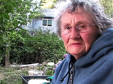 Grandma Serious