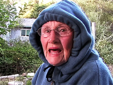 Grandma Hooded Talking